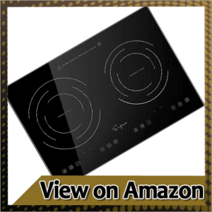 Empava IDC12B2 Horizontal Electric Stove Induction Cooktop with 2 Burners