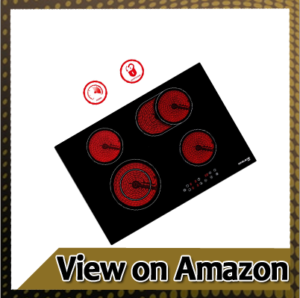 """Built-in electric cooktops 30"""" Electric Cooktop, GASLAND Chef CH77BF 240V Built-in Coil Electric Radiant Hob"""