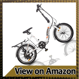 """ECOTRIC 20"""" Folding Electric City Bicycle"""